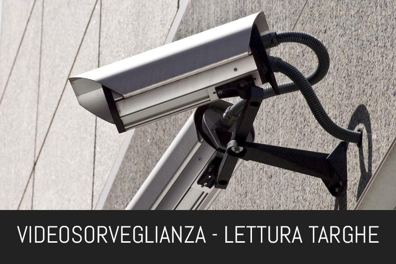 VIDEOSORVEGLIANZA - LETTURA TARGHE